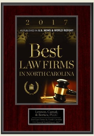 best law firms in nc 2017 award