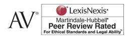 Martindale-Hubbell Peer Review Rated Affiliation